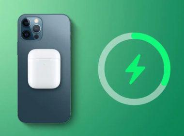 ipho,ne 13 charge sans fil inversée