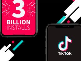 tiktok 3 milliards téléchargements