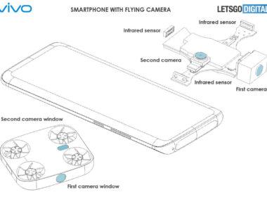 vivo module photo volant drone