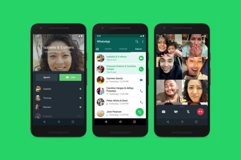 whatsapp rejoindre appel de groupe en cours