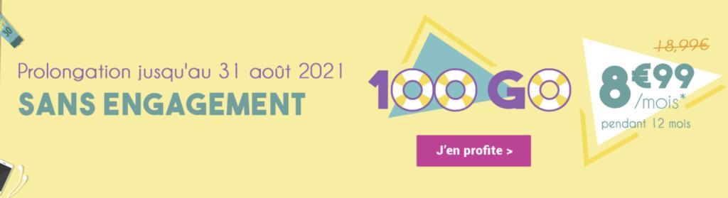 coriolis 100 Go promo