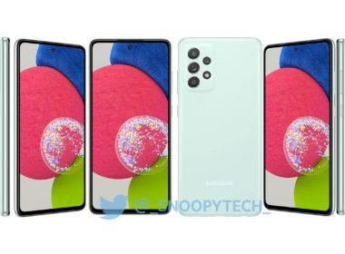 Galaxy A52s Vert