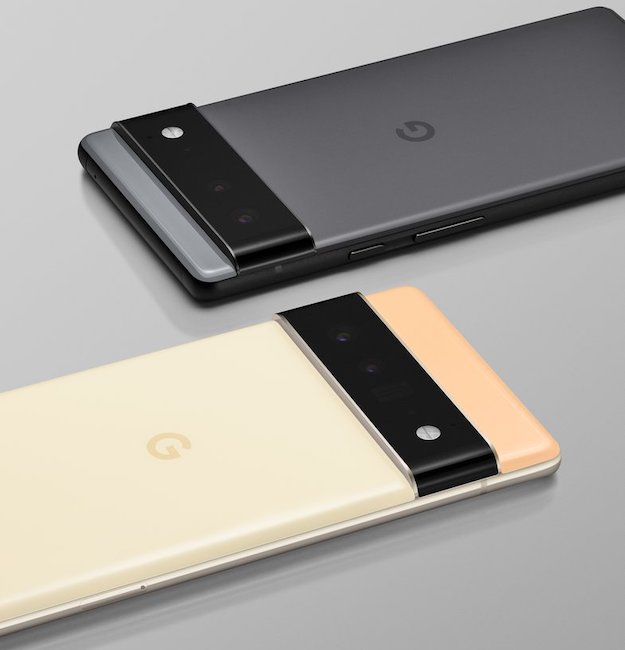 google pixel 6 pixel 6 pro nouveau design