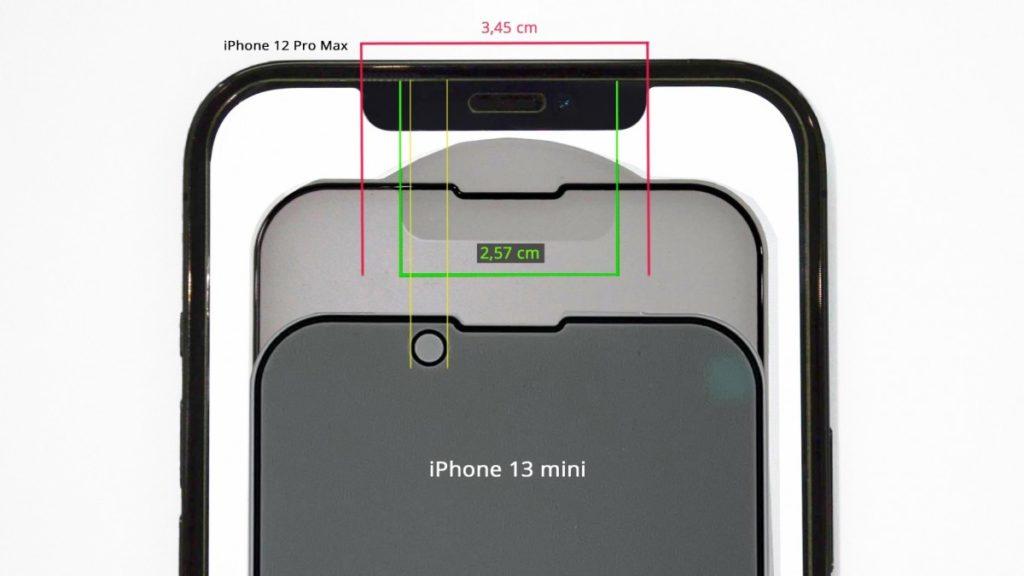 iphone 13 nouvelle encoche