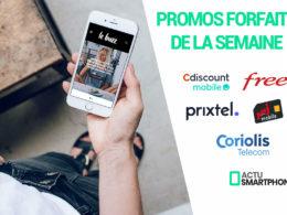 promo forfaits mobile