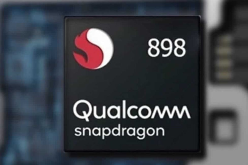 snapdragon 898 qualcomm